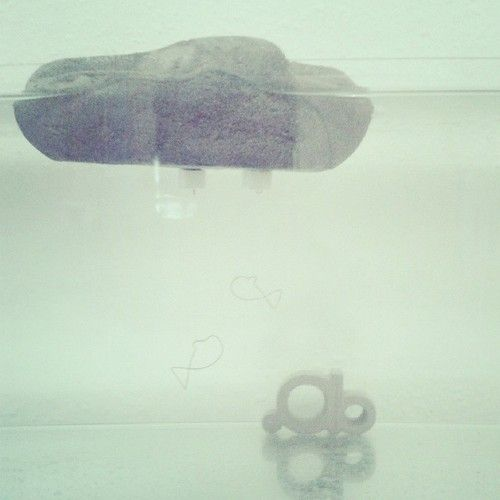 Mini Floaty  #floating #abconcretedesign #acquarium #mini #logo #love