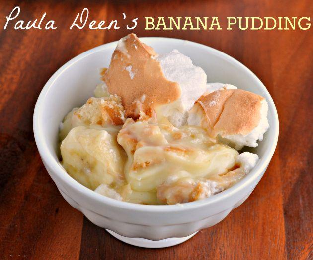 Homemade banana pudding recipes paula deen