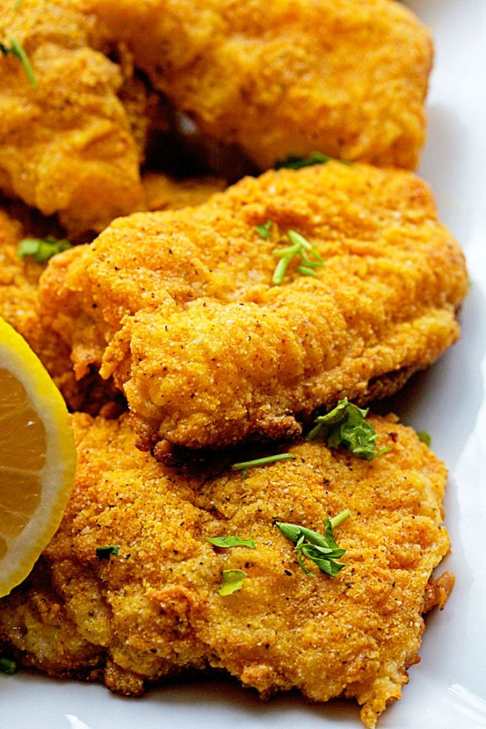 Spicy Oven Fried Catfish | Grandbaby Cakes
