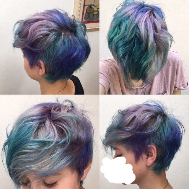 I am about to dye my hair with these colors. Now I have an idea somehow