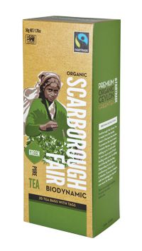 Scarborough Fair - Green Tea.  Check this and heaps more #Fairtrade products out here: http://fairtrade.org.nz/en-nz/buying-fairtrade-products #tea