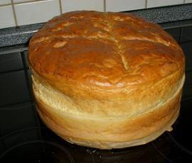 Rezept Luftiges Milchbrot von Polli - Rezept der Kategorie Brot & Brötchen