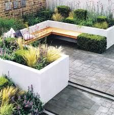 built in garden seating areas - Google Search