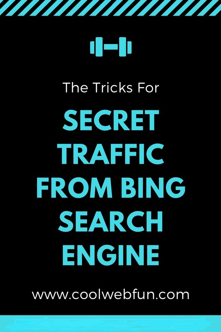 How to use bing search engine to increase website traffic? Bing webmaster tools can really be a good source to analyse website statistics. Click on to know how http://www.coolwebfun.com/bing-search-engine-submission/