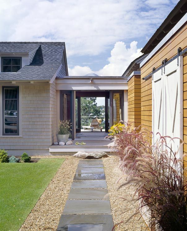 20 best images about outdoors on pinterest vineyard for Breezeway connecting garage to house
