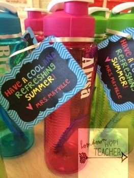 End of the year gift tags for student or teacher gifts. You can even edit your name. Attach to a sports bottle, Popsicle, Kool-Aid packet or bottle, Lemonade, crazy straw, water guns, or swim goggles. These versatile tags can be attached to almost any item.Thanks for looking!Leave feedback and earn TPT credit!You can build credit by leaving comments after your purchase.