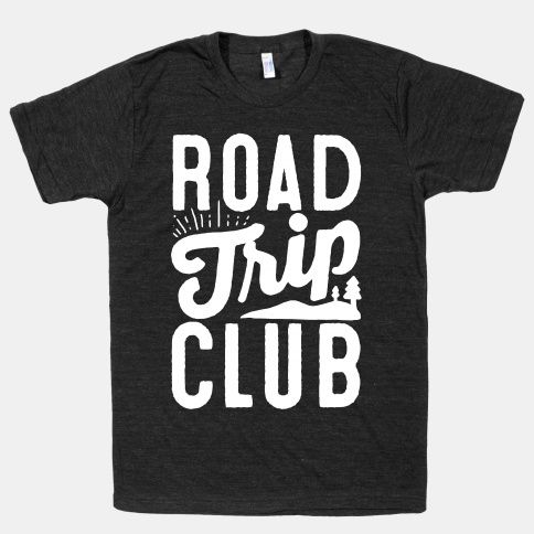 "This road trip shirt is perfect for those summer road trips with your friends across country. Featuring wanderlust imagery with the words ""Road Trip Club"", this summer t shirt is great for fans of road trips, driving, wanderlust, wanderlust quotes, travel quotes, travel inspiration and hippie fashion."