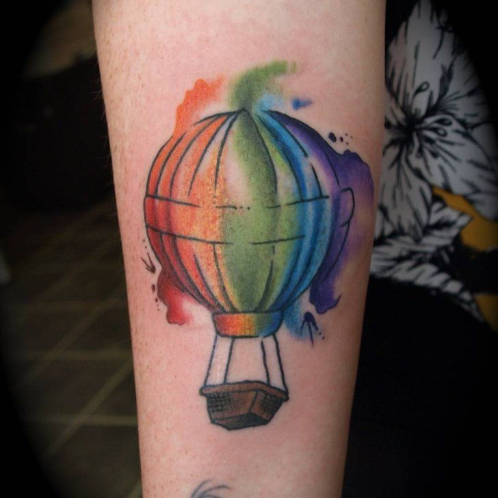 Hot Air Balloon Air Balloon Tattoo Balloon Tattoo Hot Air Balloon