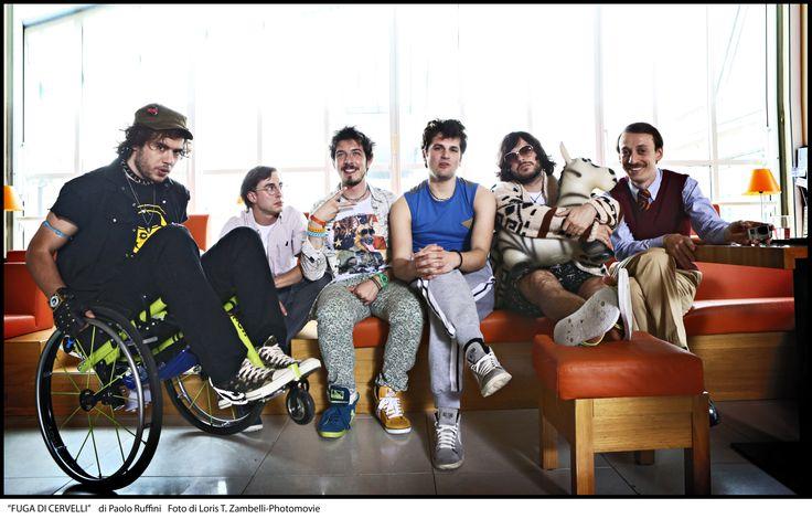 """Il cast di """"Fuga di Cervelli""""  #manymal #fugadicervelli"""
