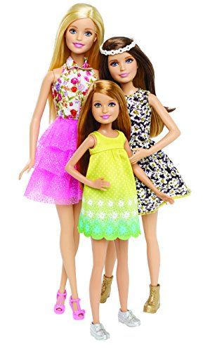 Experience the fun adventure and bonds between the Sisters as seen in the new movie Barbie and Her Sisters in The Great Puppy Adventure with this three-doll gift set....