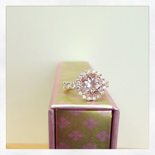 114 best Morganite Engagement Rings images on Pinterest ...