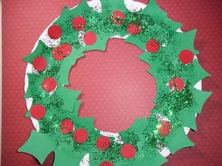 Paper Plate Crafts Toddler Christmas