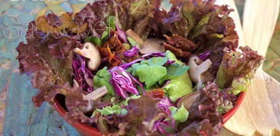 Salada de Agrião com Repolho