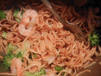 West East South North: Homemade Ichiban (make with the healthy ramen noodles)