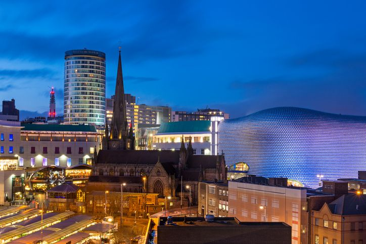 The most musical cities in the UK? The first musical event mentioned is the Premiere of Mendelssohn's Elijah - sung by Birmingham Festival Choral Society!