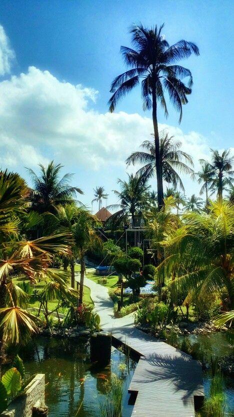 Serenity at @balidynastyresort #lushgarden #gardenenvy #inparadise #bali #indonesia