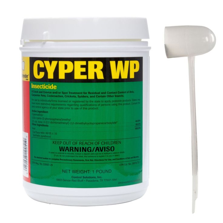 1 LB Cyper WP Multi Use Pest Control Insecticide 40% Cypermethrin (Generic Demon WP and Cynoff WP) control of bees, biting flies, boxelder bugs, centipedes, cockroaches, crickets, earwigs, elm leaf beetles, firebrats, fleas, flies, millipedes, mosquitoes, pillbugs, silverfish, sowbugs, spiders, ticks, and wasps. etc -- Read more reviews of the product by visiting the link on the image.