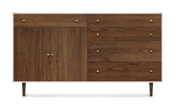Mimo 1 Drawer over 2 Doors/4 Drawer Dresser