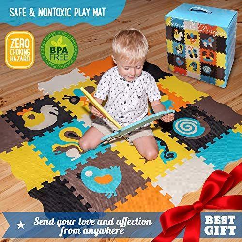 Play Mat Baby Mat Kids Rug Baby Play Mat Game Mat Floor Tile Foam
