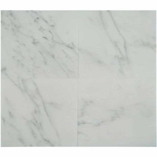 Asian Statuary Oriental White Marble 18x18 Polished Tile In 2020 White Marble Statuary White Marble Tiles