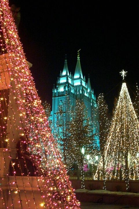Christmas on Temple Square Salt Lake City & Best 25+ Temple square ideas on Pinterest | Salt lake city mormon ... azcodes.com