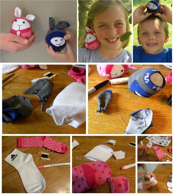 how to make handmade socks