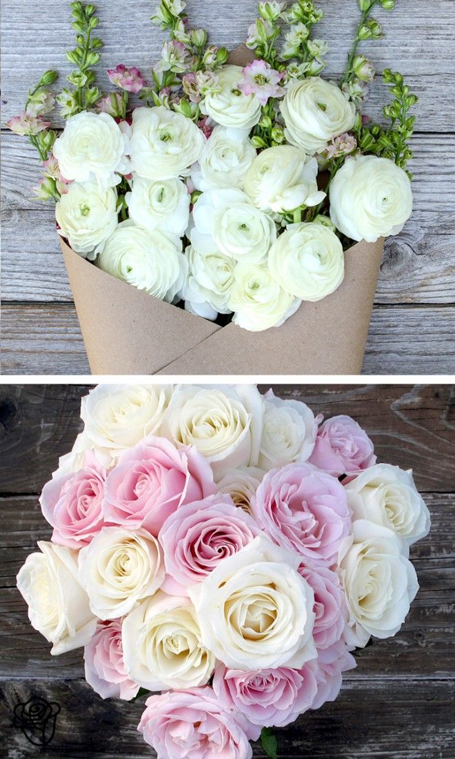 Good vibes included.  The Bouqs, beautiful flowers!! White creates an airy clean feel.