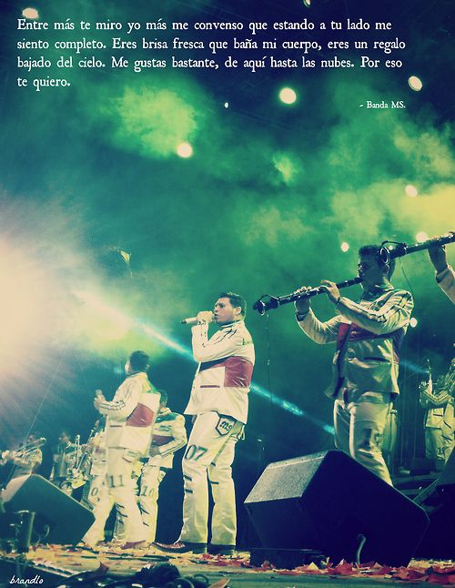 I LOVE Banda MS<3<3 It is my dream to go to their concert one day!!!