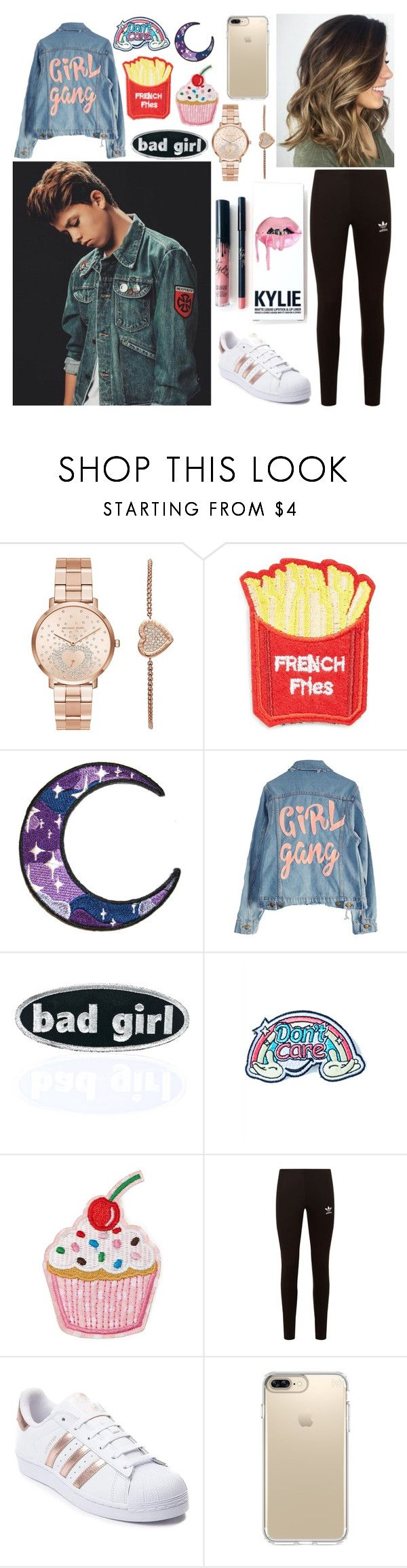 """""""Jacob Sartorius"""" by romyuitweert ❤ liked on Polyvore featuring Michael Kors, Kylie Cosmetics, Cara, High Heels Suicide, C&D Visionary, Eye Candy, Forever 21, adidas Originals, adidas and Speck"""