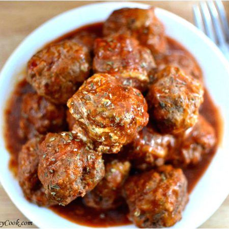 Bobby Flay's meatball (and tomato sauce) recipe is a perfect combination of ingredients and flavors. It will put your grandmother's recipe to the test!