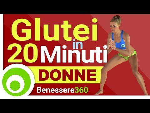 Esercizi per i Glutei in 20 Minuti - Allenamento a casa per Donne - YouTube