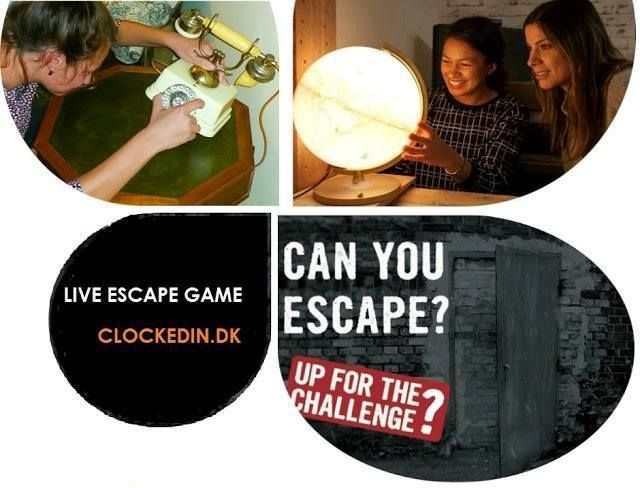 #LiveEscapeRoom #Game of ClockedIn is 60-minute fun-filled & #adventurous entertainment package for YOU. Play with your #friends & #family