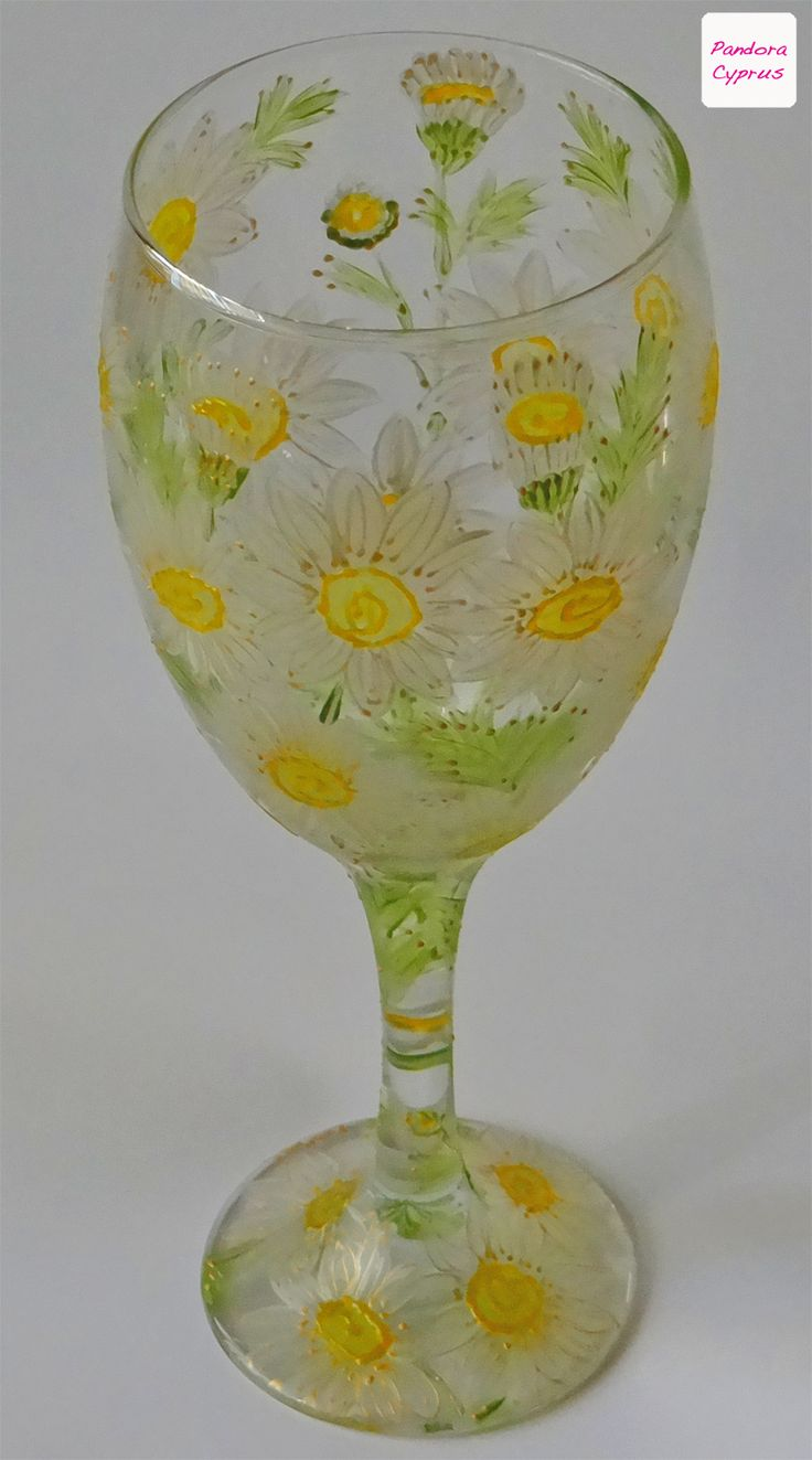 Collectable hand painted glass. Hand crafted in #Cyprus.