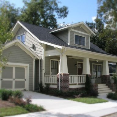 Atlanta Craftsman Exterior Design Ideas Pictures Remodel