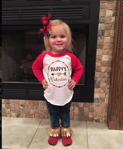 Daddy's Valentine - COUNTRY LACE BOUTIQUE