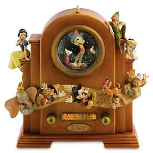 Disney Snowglobes Collectors Guide: World of Disney Jiminy Cricket Snowglobe