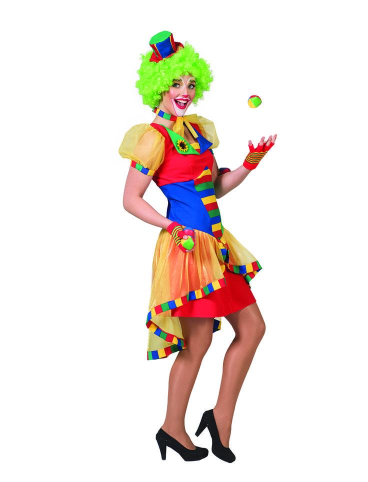 clown damen | Clowndame Henni > Pierros Karneval Shop