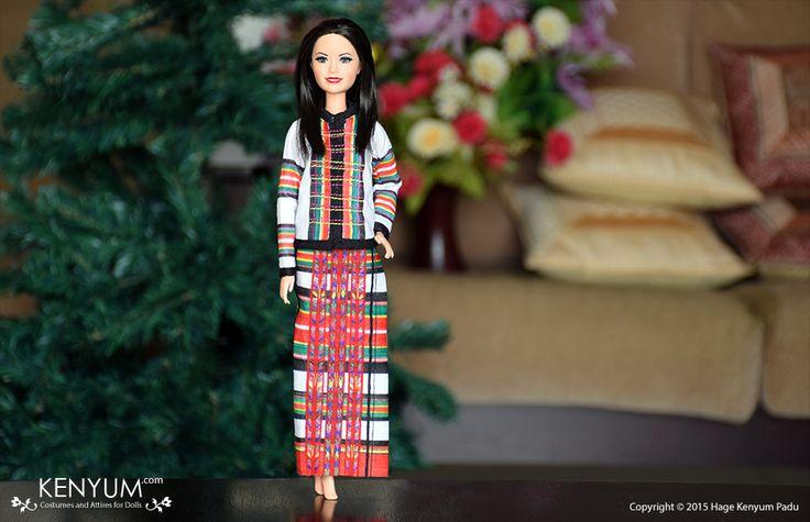 Barbie in Mizo attire