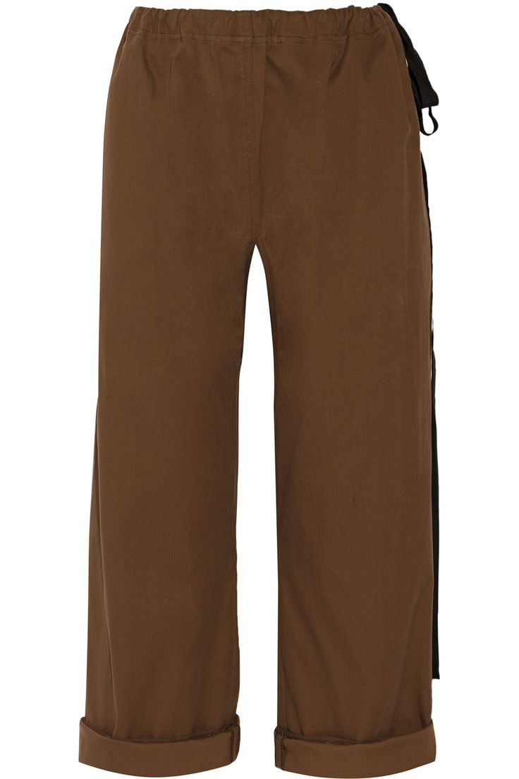 Sergé De Coton Pantalon Large Jambe Marni QkZjhrw