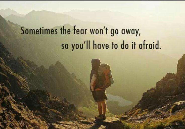 Do It Afraid.