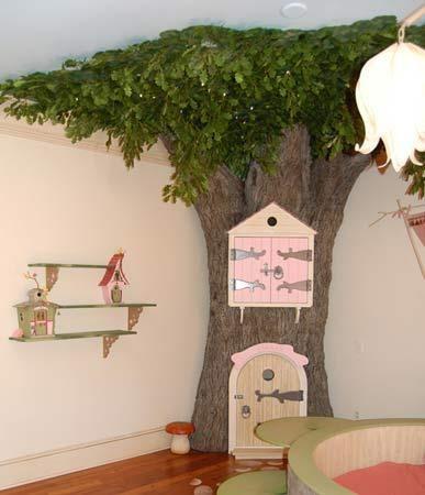 Arvores na decoração do Quarto do seu filho