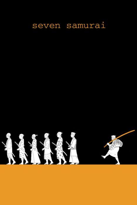 Akira Kurosawa - Seven Samurai poster