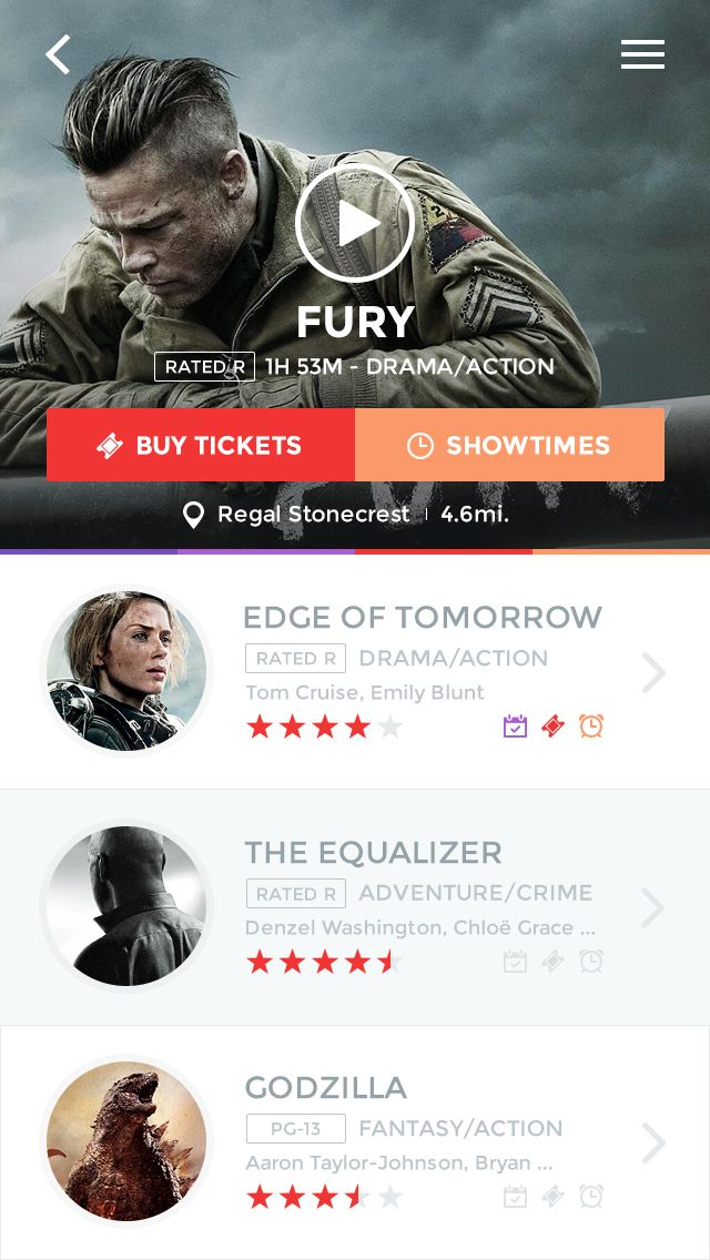 Movie App by Andrew Baygulov