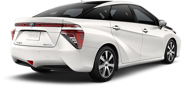 Announcing the Toyota Mirai fuel cell vehicle, a turning point in automotive history. Show your support for the hydrogen fuel movement by leaving your mark.
