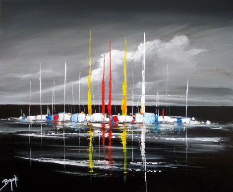 17 meilleures id es propos de peinture de voilier sur - Salon du dessin et de la peinture a l eau ...
