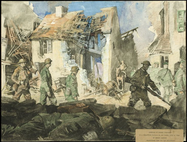 This Riveting Art From the Front Lines of World War I Has Gone Largely Unseen for Decades | At the Smithsonian | Smithsonian