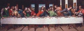 Das letzte Abendmahl, da Vinci - berühmte Bilder