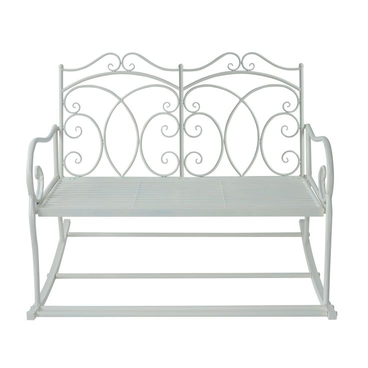 Outsunny Cast Iron Swing Chair – Ideal Home Show Shop