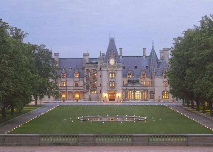 The vanderbilt mansion in asheville nc anime for Biltmore estate wedding prices