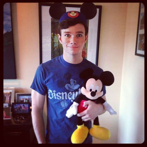 hrhchriscolfer  Guess who's excited for the #TheLandOfStories signing at Disneyland tomorrow!!!